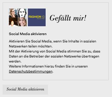 Peek & Cloppenburg Facebook Like-Button