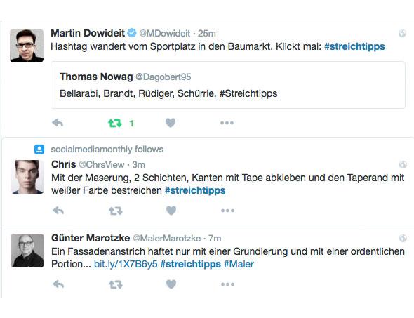 Das Twitter Hashtag #streichtipps spottet über besserwissende Nationaltrainer