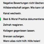 8 Tipps - Auf schlechte Bewertungen gut reagieren